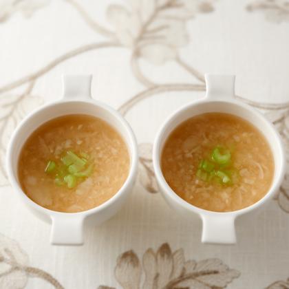 カブの甘酒スープ