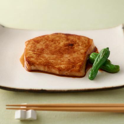 カジキの醤油麹照り焼き