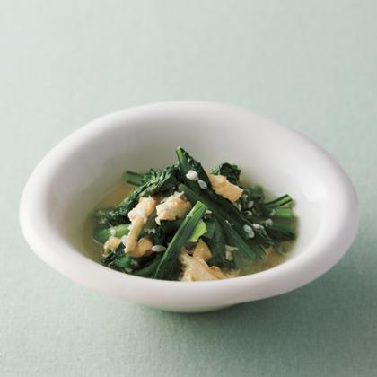 青菜の塩麹さっと煮