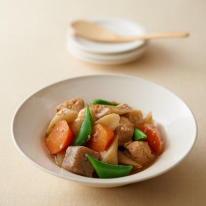 しょうゆ麹の炒り鶏