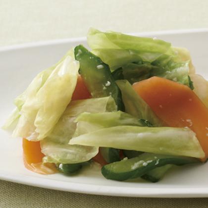 野菜の塩麹もみ漬け